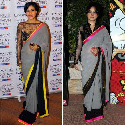 Same sari: Divya Dutta copies Kajol