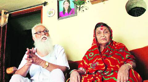 The Giris at their home. Sister Shakti says Kalpana was planning to quit politics after the Lok Sabha polls. machindra amle