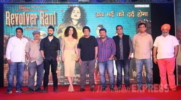 'Queen' Kangana turns 'Revolver Rani' for Vir Das