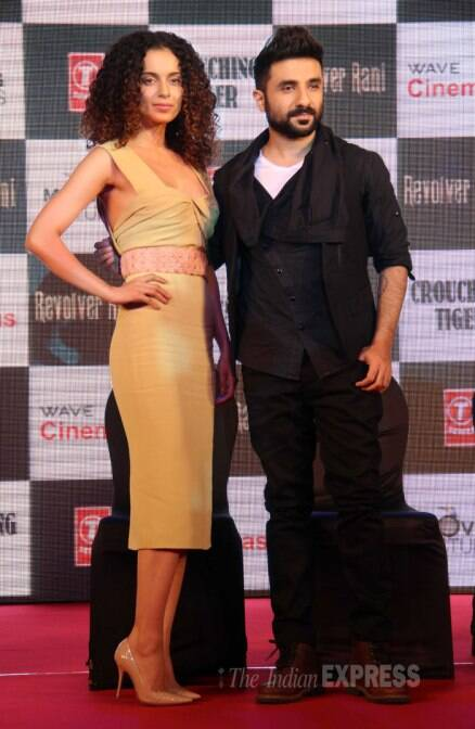'Queen' Kangana turns 'Revolver Rani' for Vir Das