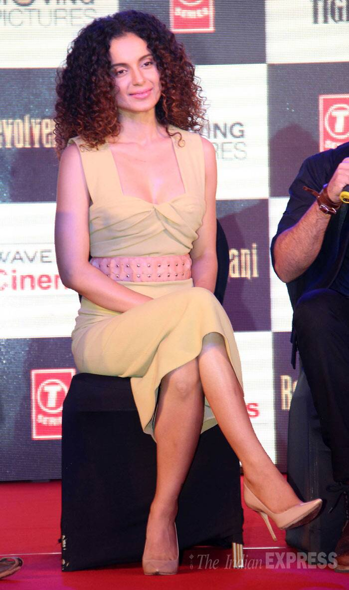 Kangana Ranaut received immense praise for her performance in 'Queen' and fans are eagerly waiting for her next release. (Photo: Varinder Chawla)