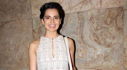 PICS: Kangana Ranaut beams at 'Revolver Rani' screening