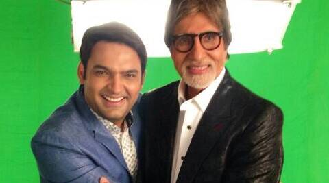 Amitabh Bachchan will be promoting his film 'Bhoothnath Returns' on the popular comedy show.