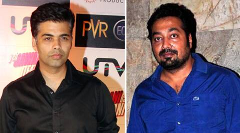 "Karan Johar tweeted, ""Thank you Anurag Kashyap for fulfilling my dad's wish."""