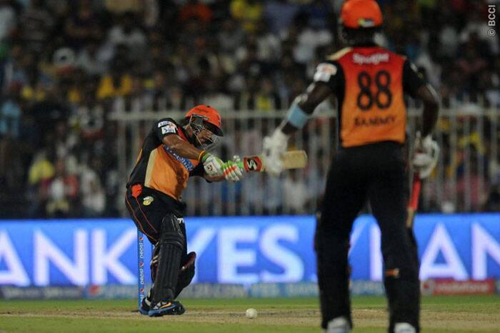 Karn Sharma, in particular, enthralled with his late hitting (Photo: BCCI/IPL)