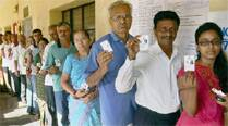 Moderate to brisk polling in Karnataka