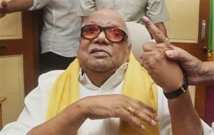 DMK Chief M Karunanidhi. (PTI)