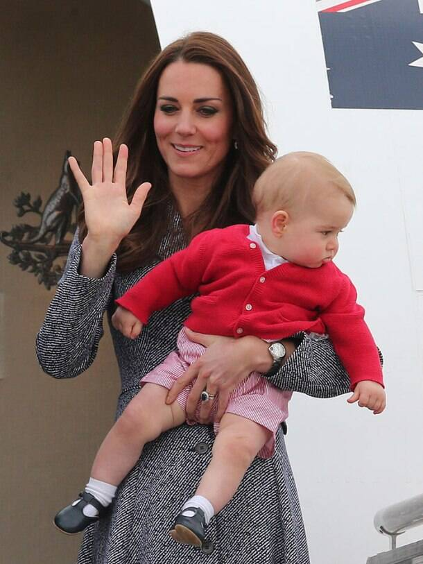 Goodbye Australia! Kate Middleton gets to spend 'us' time with son Prince George