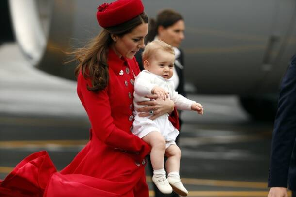 Prince George's first royal overseas tour with mom Kate, dad William