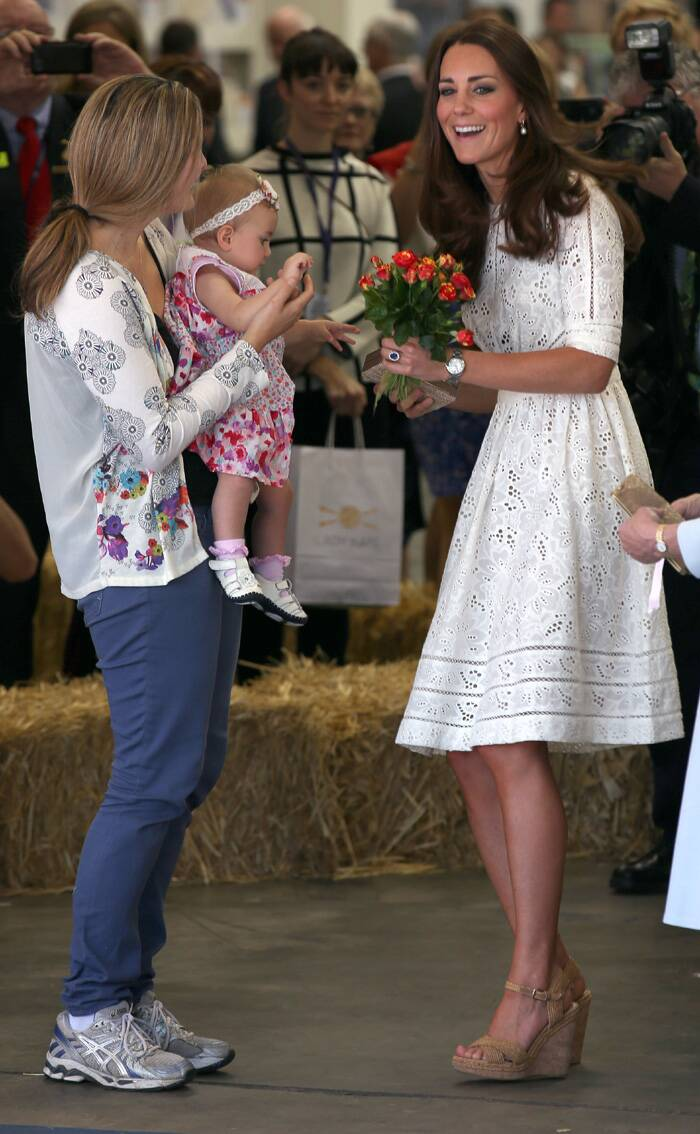 Kate Middleton is elegant in Alexander McQueen for Easter