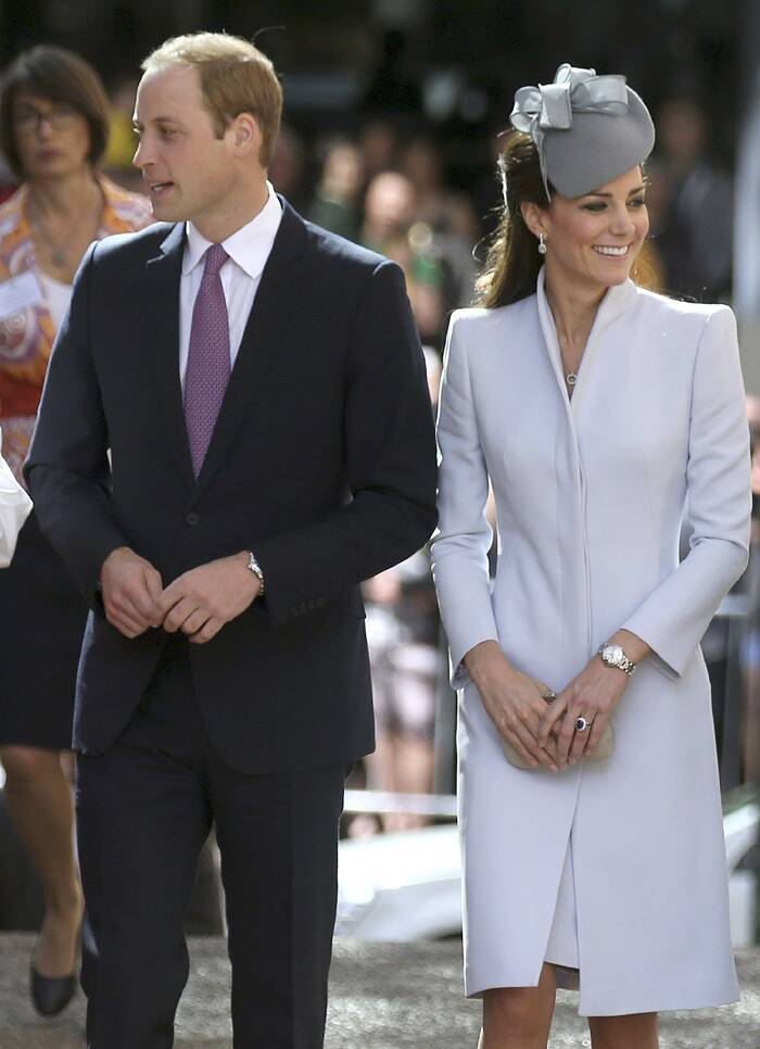 UK royals Prince William and Kate Middleton, who are currently guests in Australia, began Easter Sunday in traditional style by attending Church. <br /><br /> The Duke and Duchess of Cambridge arrived for an Easter service at St Andrew's Cathedral in Sydney. (AP)