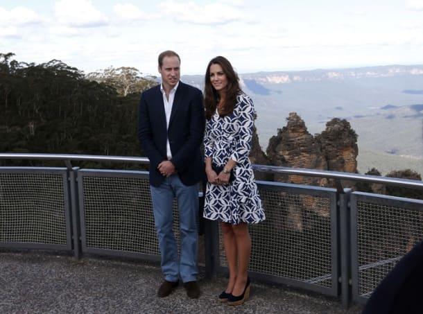 Kate Middleton, Prince William tour Australia sans baby Prince George