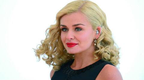 Katherine Jenkins had parted ways with her stockbroker boyfriend Adam Bidwell last year. (Reuters)