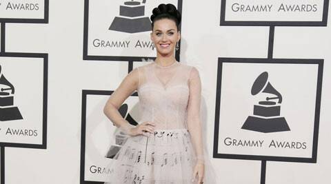 """""""Katy and Diplo hooked up at Coachella. They were together behind the main stage, where she had a tour bus or trailer, and a group of her friends were hanging out,"""" said a source. (Reuters)"""