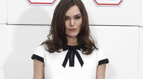 Keira Knightley says she is currently contemplating about signing up 'The Typist'.