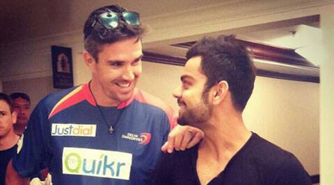 Delhi Daredevils batsman Kevin Pietersen (L) is expected to play against the Sunrisers Hyderabad on Friday. (Twitter-Kevin Pietersen)
