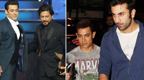 Salman, SRK, Aamir, Ranbir: The big boys have marked their territories