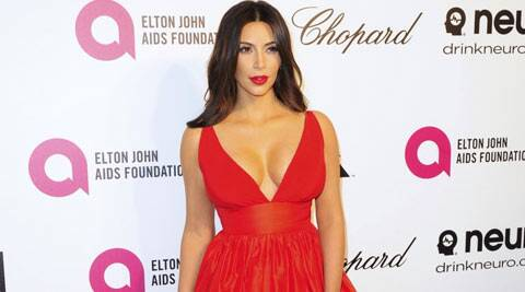 Reality TV star Kim Kardashian is reportedly sleeping in a corset in order to look her best for her wedding to Kanye West next month. (Reuters)