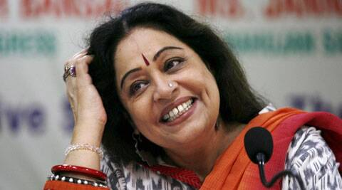 Now the part originally played by Rekha has gone to Kirron Kher.