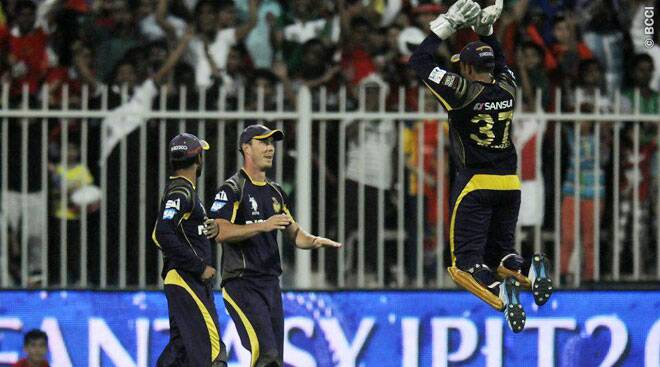 KKR seal thriller in Sharjah