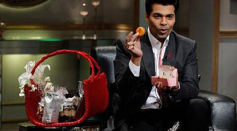 Karan Johar almost in the last (ditch) attempt to up the show's score revealed the contents of the 'Koffee Hamper'.