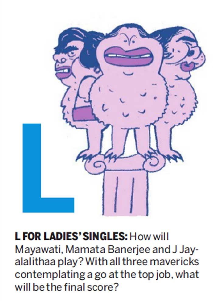 L FOR LADIES' SINGLES