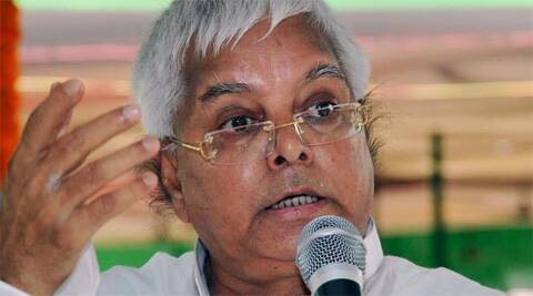 RJD President Lalu Prasad. (Reuters)
