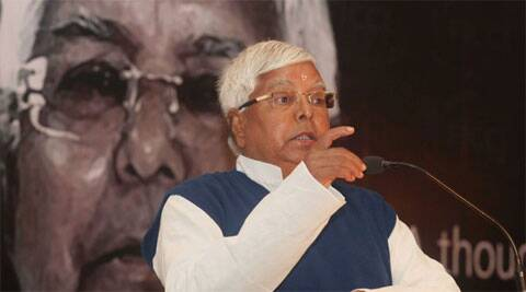The RJD chief vows to stop Modi while addressing a rally in Motihari