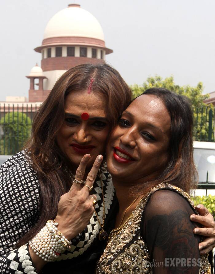 Supreme Court has paved the way to bring the transgender in national mainstream. (IE Photo: Prem Nath Pandey)