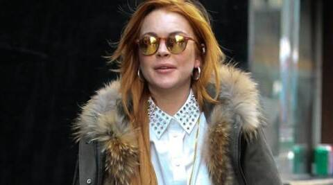 Troubled actress Lindsay Lohan apparently could not afford Matt Harrell.