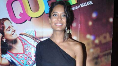Lisa Haydon was last seen in the recently released film 'Queen'.