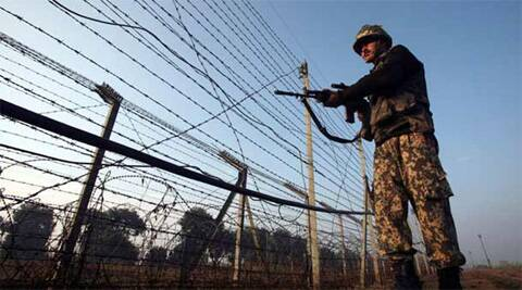 Pak troops resorted to small arms firing and mortars firing on Indian posts along LoC in Doda battalion area in Poonch district from 0935 hours. (reuters)