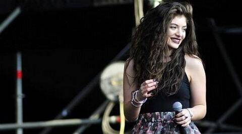 Lorde: I'm kind of cruising Instagram every hour or so, it's the one I check back to when I'm bored. (Photo: Instagram)
