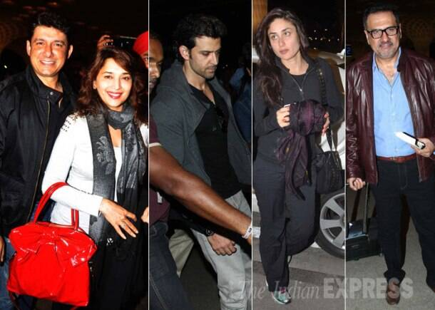 Madhuri, Hrithik, Kareena off to IIFA, skip voting