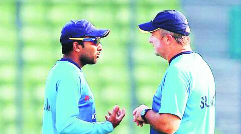 Sri Lanka won the Asia Cup and T20 World Cup under Farbrace (R) (File)