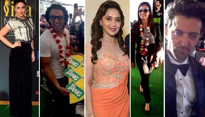 IIFA 2014: Kareena, Madhuri, Priyanka, Ranveer on green carpet