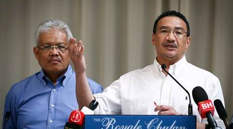 Deputy Foreign Minister Hamzah Zainuddin,(Left) who heads the sub-committee focusing on the next-of-kin of people on board the ill-fated plane, said that the process to identify those who would receive the assistance started two weeks ago.