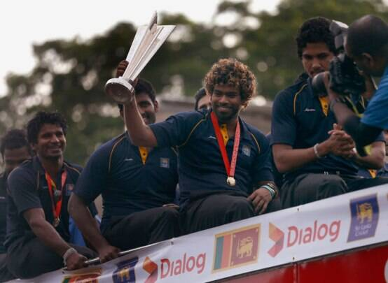T20 World Cup champions Sri Lanka return home to a heroes' welcome