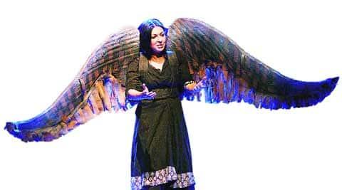 Mallika Sarabhai in a scene from the play