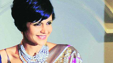 Mandira Bedi in Ludhiana on Thursday. (Gurmeet Singh)