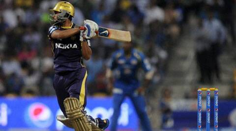 Pandey made 64 off 53 while Jacques Kallis (below) as even more impressive during his 46-ball 72. (BCCI/IPL)