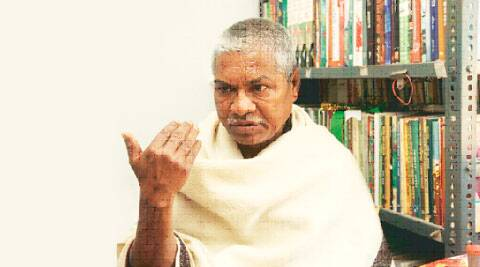 Bengali writer Manoranjan Byapari.
