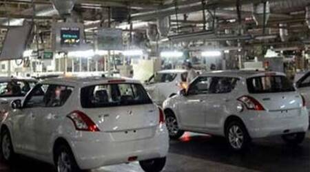 Maruti Suzuki: Domestic sales declined by 5.2 pct to 1,02,269 units as against 1,07,890 units in March 2013. (PTI)