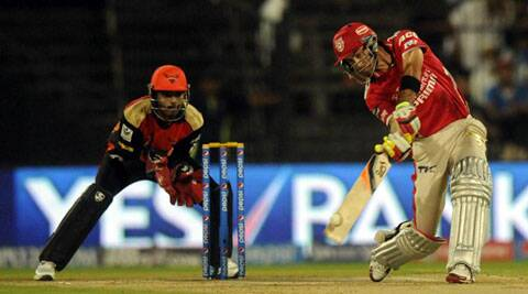 Glenn Maxwell shared a partnership of 68 runs off 27 balls with David Miller for the third wicket (Photo: BCCI/IPL)