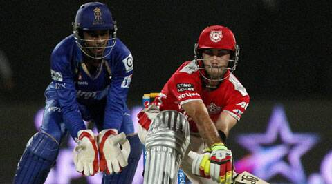 Glen Maxwell hit half his side's sixes and 8 of 11 fours during his innings of 89. (PTI/BCCI)