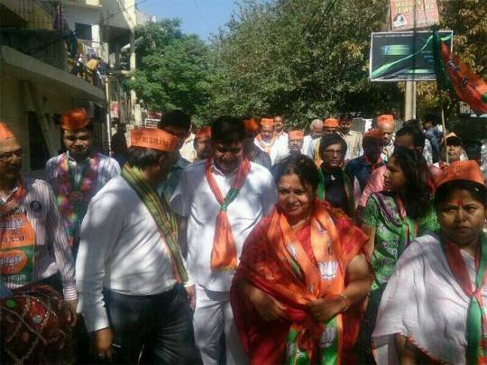 Elections 2014: On the campaign trail, from Twitter handles of candidates