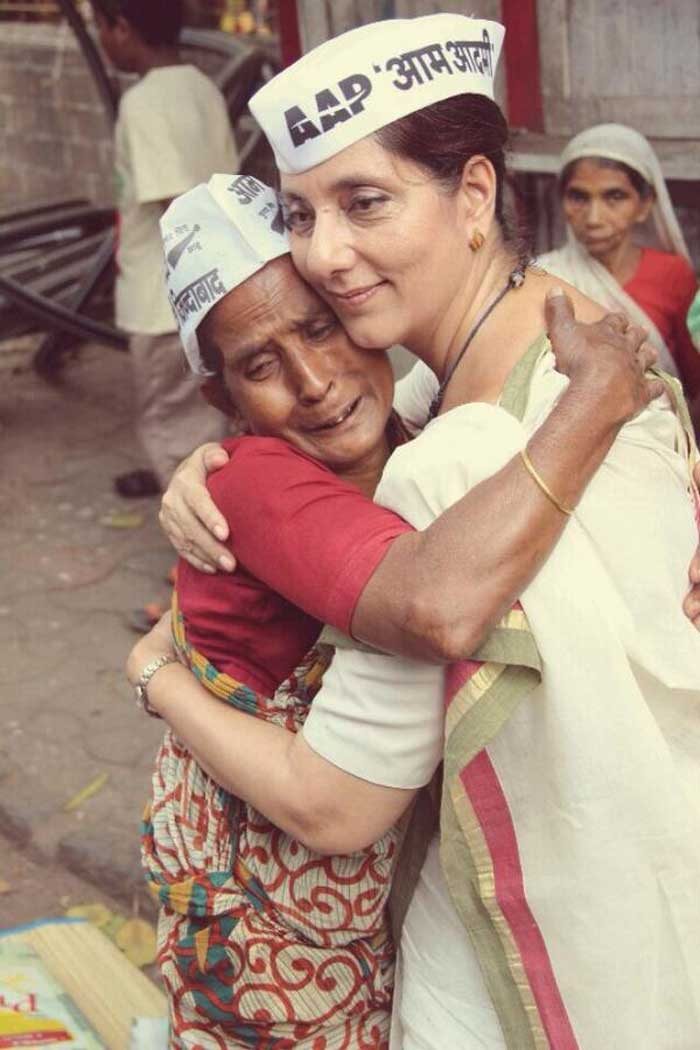 @meerasanyal: It's time for change. Vote AAP.