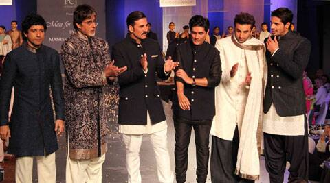 Men for Mijwan was a fashion show with a difference.