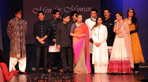 The fashion show was organised by Mijwan Welfare Society, an NGO headed by Shabana Azmi.