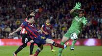 Lionel Messi comes good, Barcelona win again